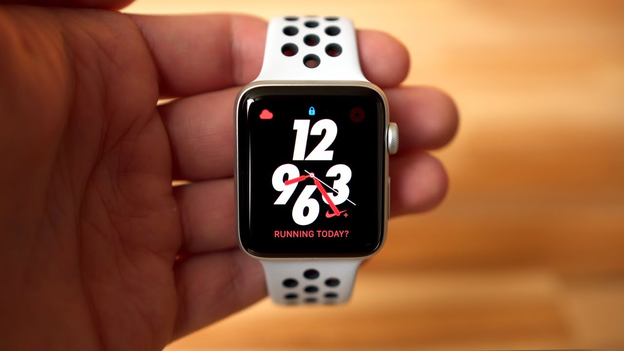 Should you buy the standard Apple Watch Series 3 or the Nike + model?