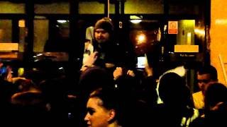 Extras - All Time Low Meeting Fans Outside - Liverpool Guild of Students - 6th March 2011