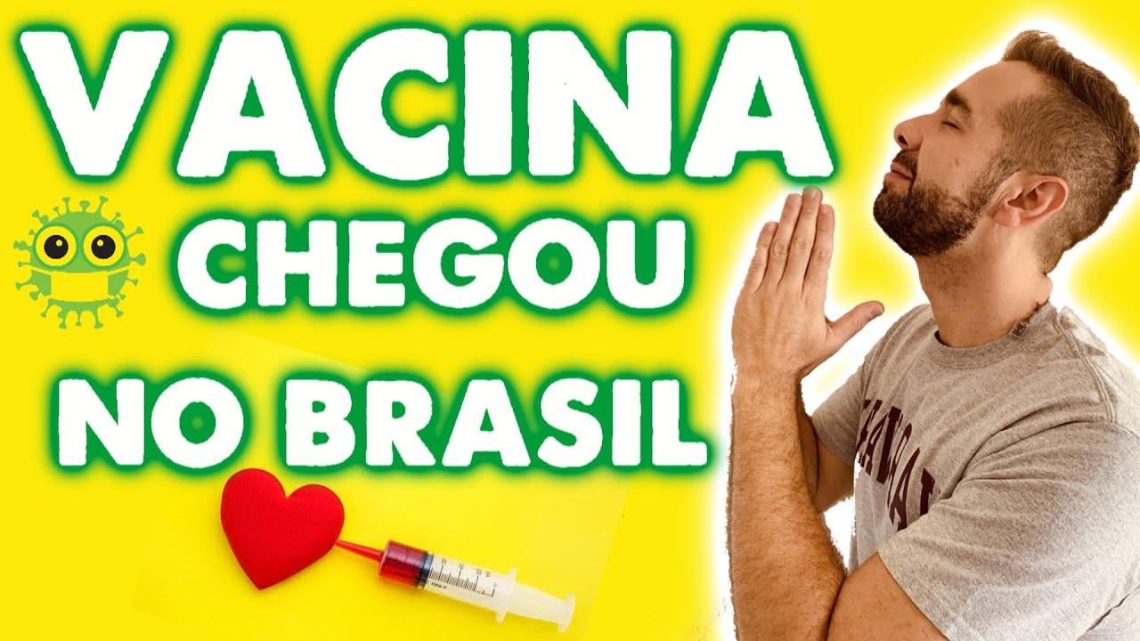 Vacina contra Coronavirus Codid19 chega ao BRASIL ! VACINA DE OXFORD PFIZER - YouTube