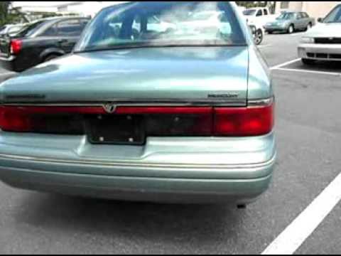 for sale 1997 mercury grand marquis ls super clean j p hyder auto brokers youtube. Black Bedroom Furniture Sets. Home Design Ideas