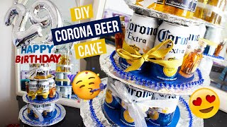 Diy | Making A Diy Corona Beer Cake For My Boyfriend's Birthday!  Gift Ideas For Him