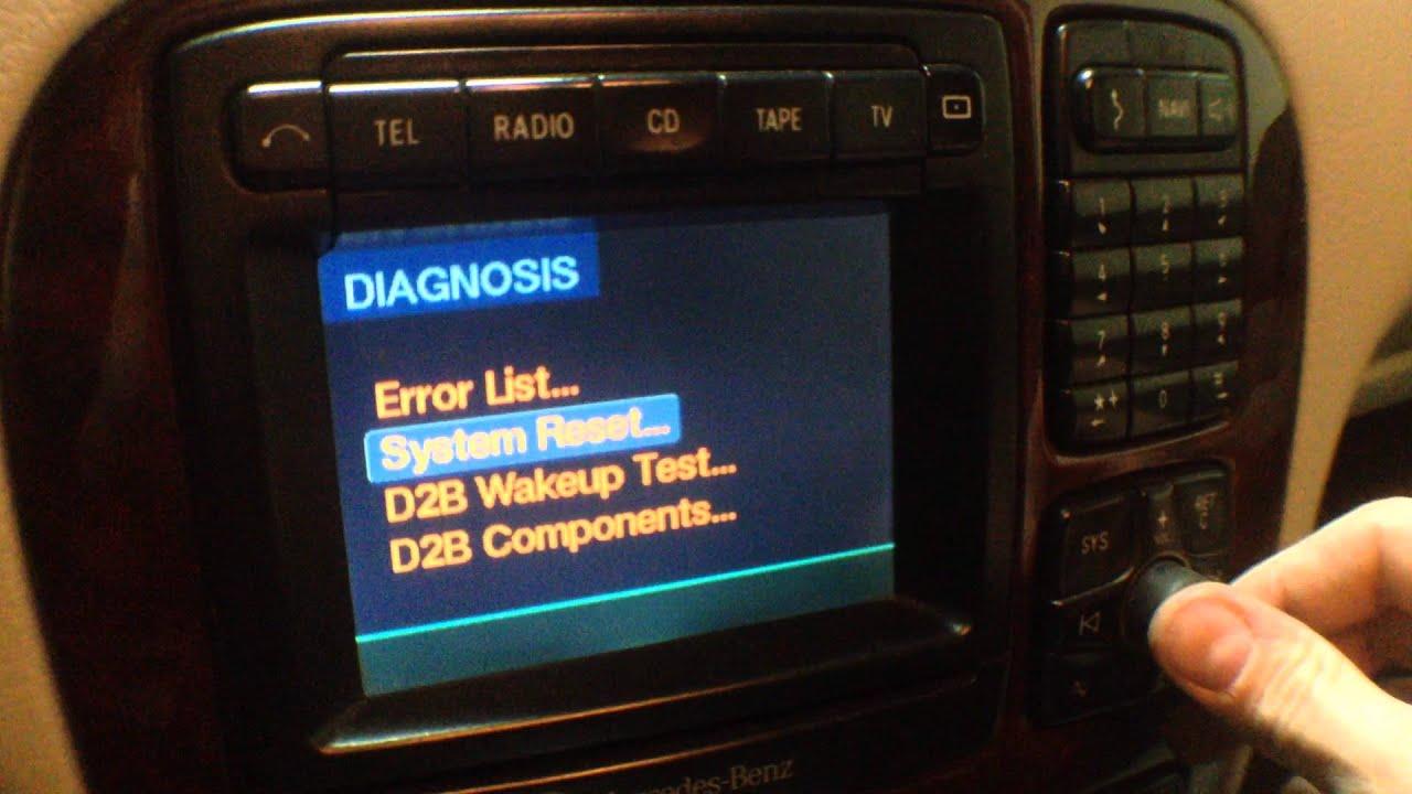 мерседес 202включить радио после снятия акб