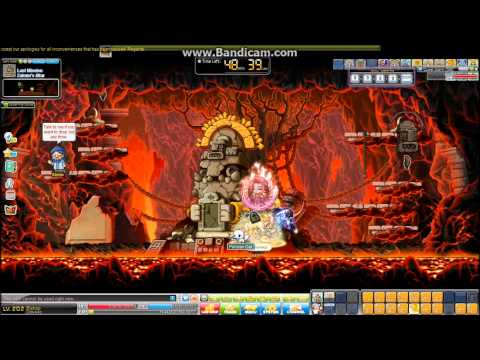 Maplestory (SEA, Aquila) - Unfunded Bishop Solo Zakum (Post RED)