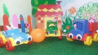 Мультфильм про черепаху, мандарин и машинки - Мультфильмы на Добряша ТВ