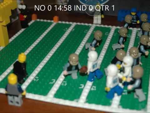 Lego Super Bowl XLIV