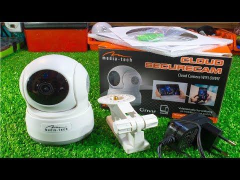 Kamera Domowa na Podczerwień Test Media-tech CLOUD SECURECAM MT4097