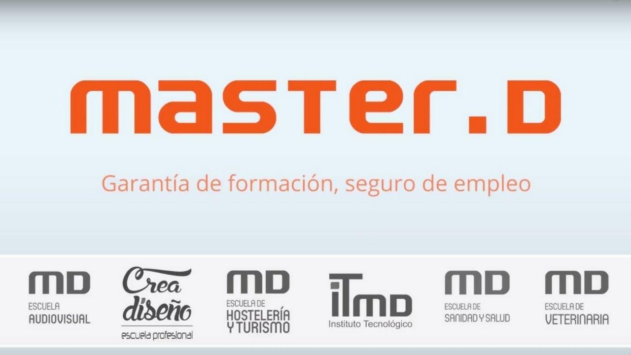 MasterD Cursos Profesionales - YouTube