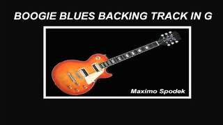 BOOGIE BLUES BACKING TRACK IN G