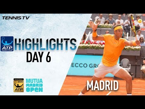 Highlights: Nadal Charges Past Monfils In Madrid 2R