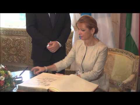 H. Seehofer empfängt den Staatspräsidenten János Áder  Prinz Carl Palais 23 10 15 Teil III