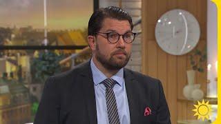 """Åkesson om Jomsofs islamuttalande: """"Vi vill inte se det i Sverige""""   Nyhetsmorgon   TV4 & TV4 Play"""