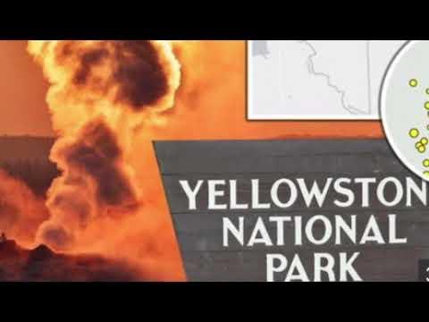 Yellowstone Volcano  More Than 288 Earthquakes Earthquake Fears May Erupt