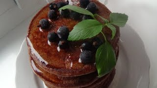 Диетические шоколадные панкейки | Рецепты похудения