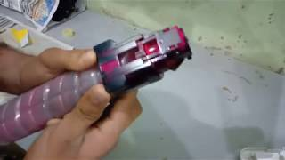 RICOH AFICIO C305 refilling cartridge full video with easy