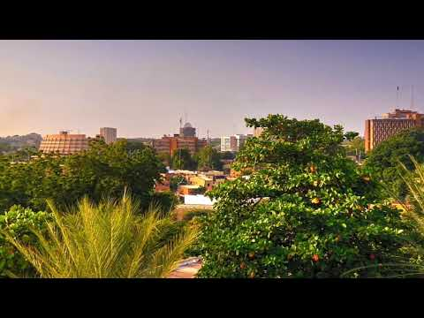 Niamey city ,the capital of Niger .