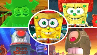 Evolution of Final Bosses & Endings in SpongeBob Games (2006-2020)