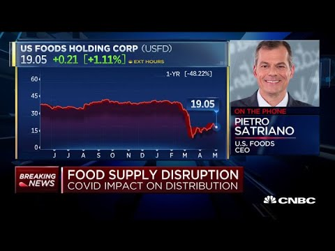 Food Service Industry Will Recover To Pre-COVID Levels Over Time: U.S. Foods CEO