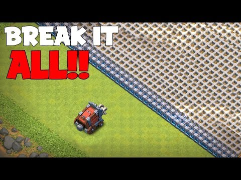 WALL WRECKER VS. ALL WALLS!!