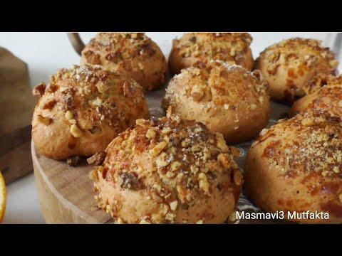 PORTAKALLI ŞAM KURABİYESİ tarifi-Pastane Usulü/Kurabiye tarifi/Masmavi3Mutfakta