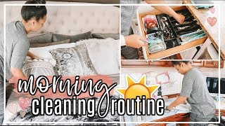 MORNING CLEANING ROUTINE FALL 2018 | EXTREME CLEAN WITH ME #FallFridaysWithPage | Page Danielle
