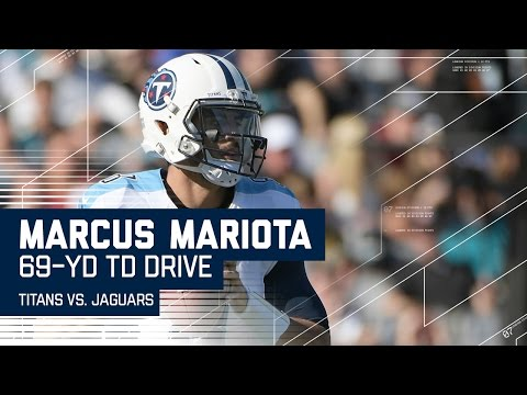 Marcus Mariota Takes Charge on 69-Yard TD Drive! | Titans vs. Jaguars | NFL Week 16 Highlights