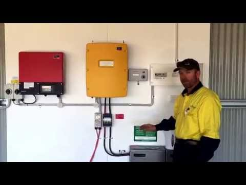AC coupled off grid system