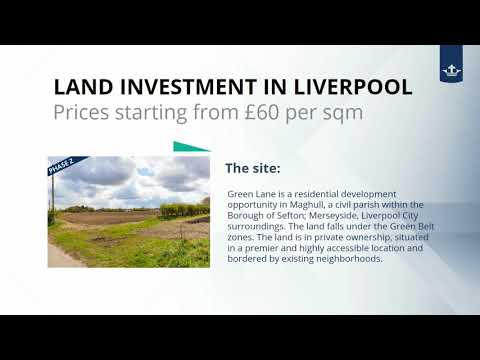 Invest in Liverpool- UK Land