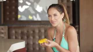 Melissa Riso shows how to cut a mango