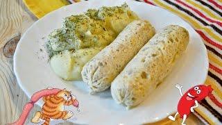 Домашние куриные сосиски в пищевой пленке рецепт. Вкусные сосиски своими руками.