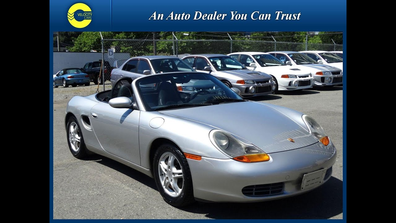 1998 porsche boxster 2 5l convertible roadster for sale in bc canada youtube. Black Bedroom Furniture Sets. Home Design Ideas