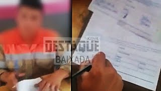 Funcionário da Light é pego falsificando documento para mandar multa para população
