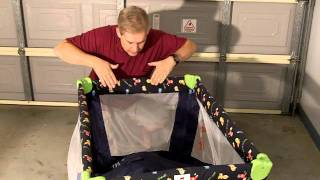 Porta-cot, How To Fold It Down, Or Putting It Up, Easy!