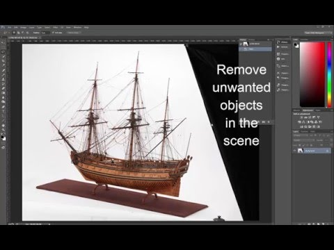 Ship Model Rigging Post Production by  Joshua Akin, Digital Imaging Officer, Royal Museums Greenwich