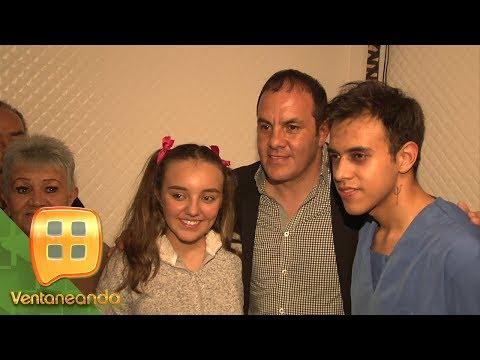 Cuauhtémoc Blanco acude al estreno teatral de sus hijos | Ventaneando