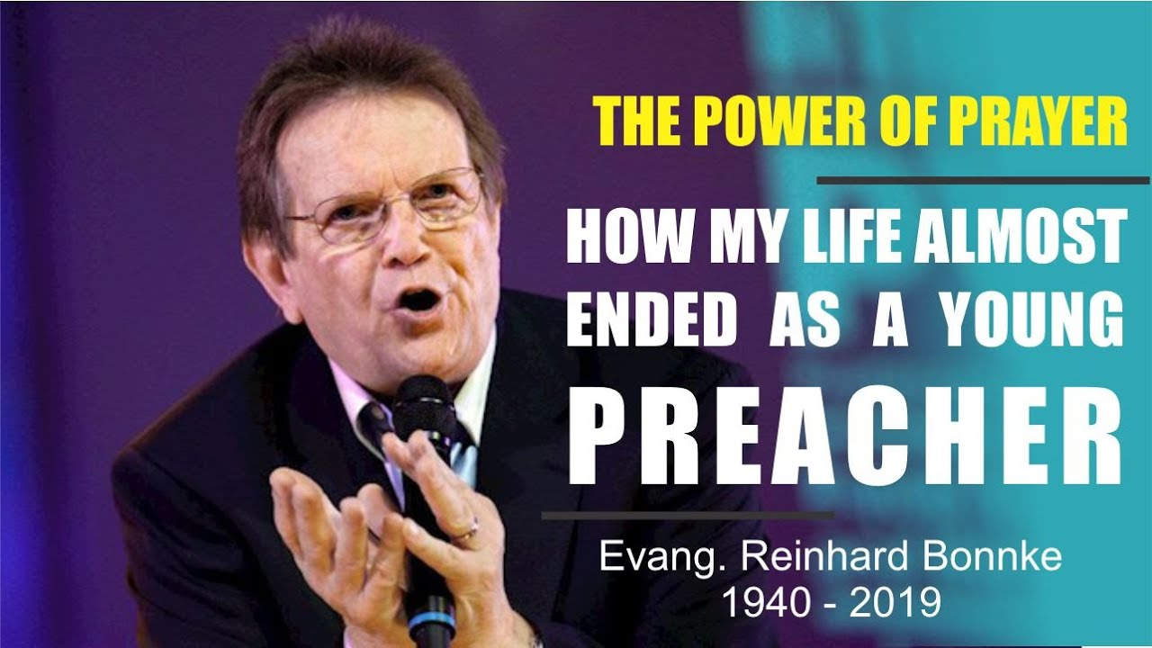 Download Evangelist Reinhard Bonnke Story   How my life almost ended as a young preacher