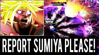 OMG SOMEONE STOP HIM PLS SumiYa Brutal 1000 GPM Invoker Game is So Hard! Dota 2
