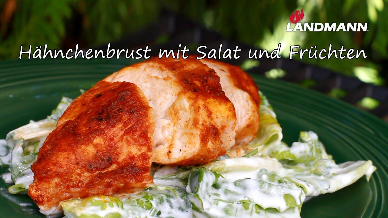 Landmann Gasgrill Mit Sizzle Zone : Landmann hähnchenbrust mit salat und früchten youtube