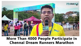 Chennai Dream Runners Marathon   Green Run   Provoke TV