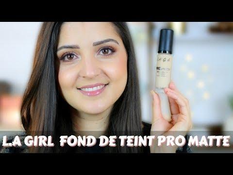NOUVEAUTÉ MAQUILLAGE : L.A GIRL PRO MATTE FOUNDATION (petit prix)