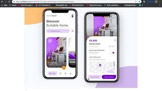 Flutter UI Designing Complete App Design Beautiful UI Design In