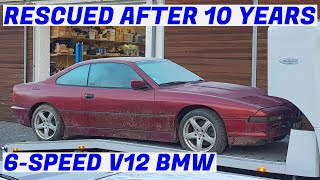 Garden Find 6-Speed V12 BMW E31 850i Revival - Project Marseille: Part 1