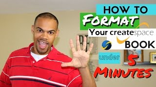 How To Format Your Book For Createspace in UNDER 5 mins - Kindle Publishing