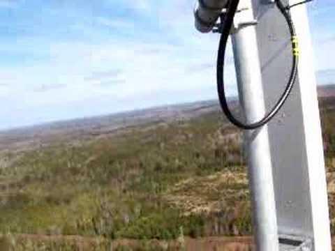 tour telecom de radiant st-stephens, NB, 350 pieds