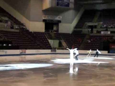 Colorado Springs World Arena Pair Skaters Exhibition 4-9-10