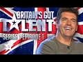 Britain s Got Talent Auditions Full Episode Series 1 Episode 1