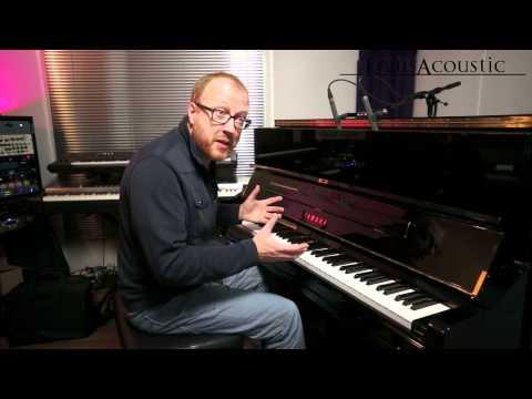 Un piano acoustique qui renvoie du son numérique
