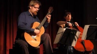 Cello Guitar Duet Duo Vitare : Dusan Bogdanovic - Chant (live)