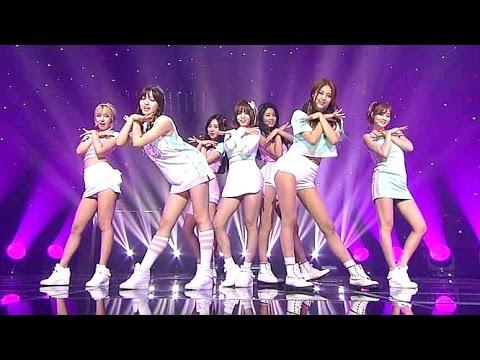 AOA(에이오에이) - 심쿵해(Heart Attack) @인기가요 Inkigayo 20150712