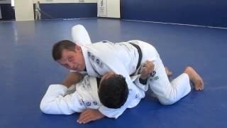 Choke from the Half Guard with Professor Fabio Leopoldo
