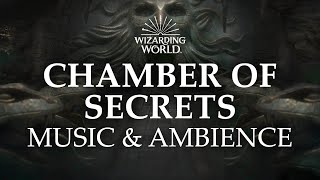 🐍The Chamber of Secrets   Harry Potter Music and Ambience, 3 Hours